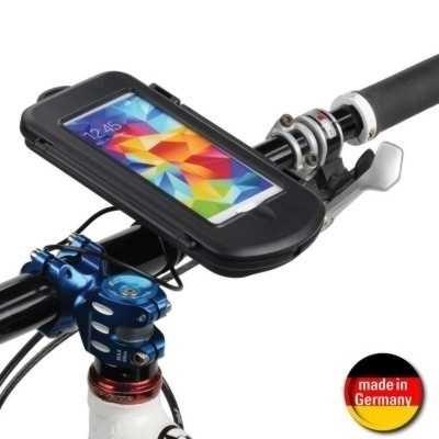 Fahrrad Motorrad Outdoor Case + Halter f. Samsung Galaxy S5