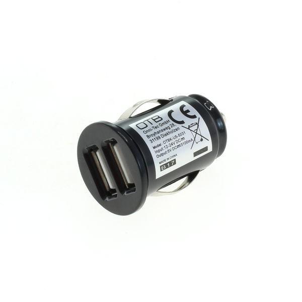 USB High Speed Auto-Doppelladeadapter f. TomTom Via 1505T
